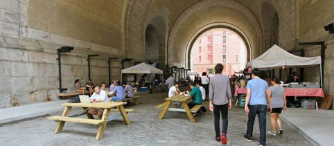 Get your own World's Coolest Office: Free coworking under the bridge