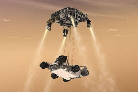 Tonight: Get a front row seat to watch a robot land on Mars