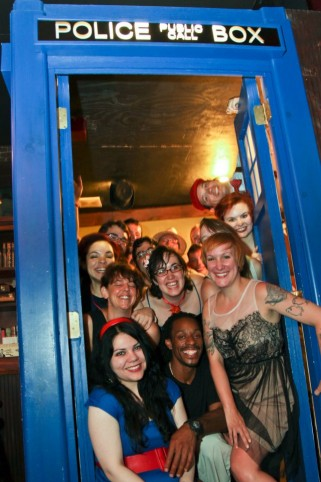 Come along, Pond: All sorts of nerdiness at this Doctor Who premiere party