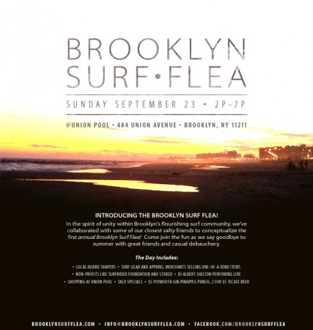 This new Brooklyn Surf Flea market sounds like a swell time