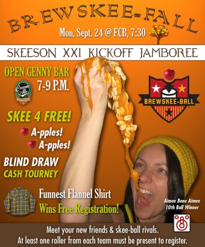 It's open skeeson: Free beer and free registration to the Skee-Ball league