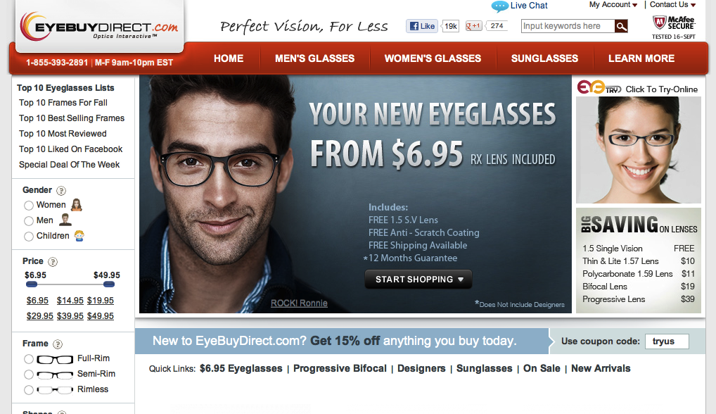 00bb3eea89 How and where to buy cheap eyeglasses online