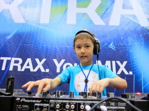 Brooklyn's 8-year-old DJ: rocking your party until his bedtime