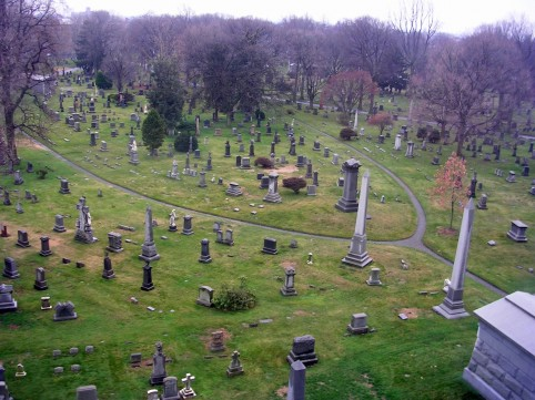 Get spooked on the Green-Wood cemetery walking tour