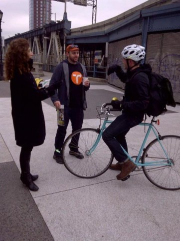 Life without subways: Free coffee and bike commuting tips today