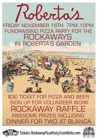 Win dinner at Blanca at a Rockaways benefit at Roberta's