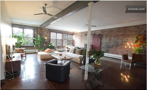 Displaced by Sandy? Stay in insane luxury loft for free!