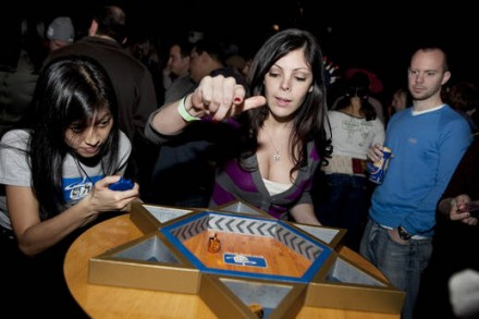 Spinners are winners: Major League Dreidel at Full Circle Bar