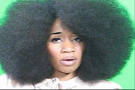 It could be you measuring the world's largest natural afro!