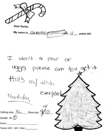 Be a Santa to a Sandy-affected kid, even if you're a grinch