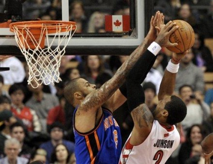 See, it's a metaphor, where Tyson Chandler is the NBA and Amir Johnson is the Knicklyn guy