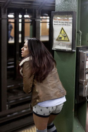 Next stop, nudity: No Pants Subway Ride is this Sunday