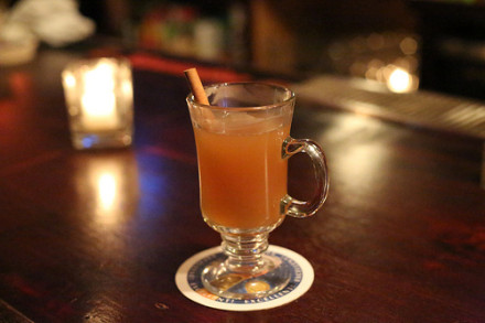Commonwealth's apple cider. Photo by Timothy Krause.
