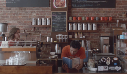 Fun fact: Hannah and Ray don't really work at Cafe Grumpy. They are fictional characters. via Erstwhile dear