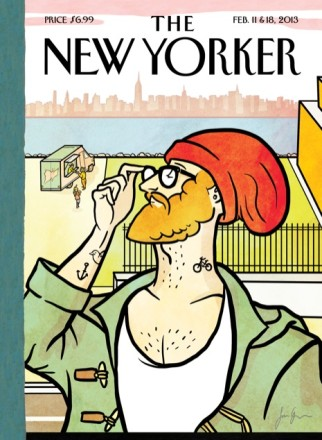 'New Yorker' cover artist obviously a hipster, but that's OK