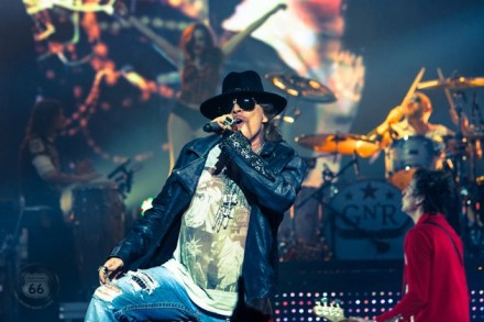 Axl Rose, possibly not NYC's first choice for a headliner. via Facebook