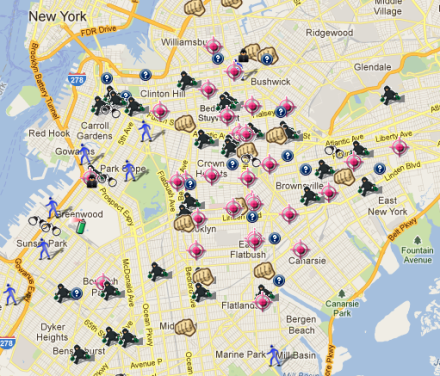 Brooklyn crime map is a wonderful time wasting device