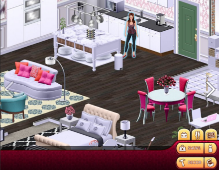 Your life in pixels: Disney's new online lady game simulates 'big city' life