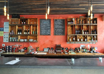 Bars We Love! Here's one: Bodega Bar, which has wine on tap