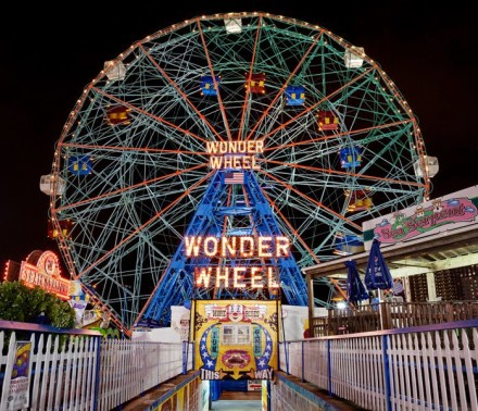 Ride the Wonder Wheel for free on opening day