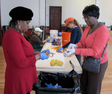Join the Prep Line of Love at the Sandy Relief Kitchen