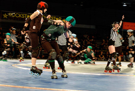 Society pages: Gotham Girls introduce rookies to derby society