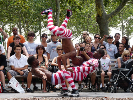 Busk be-gone: city tightens rules for street performers in parks