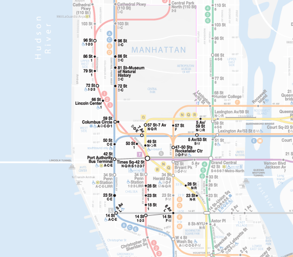 Free Wifi Nyc Map.There S Free Wifi In The Subway Here S Where You Can Find It
