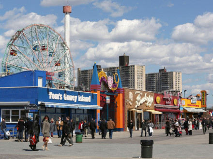 How the hell did Coney Island come back from Sandy already?