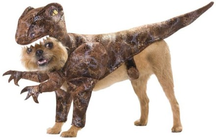 Sweet offer of the day: Pimp your dog for a dinosaur costume party