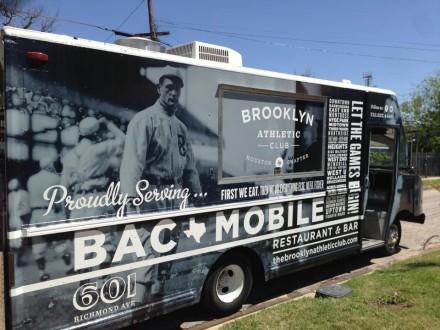 Houston's Brooklyn outpost has a food truck now