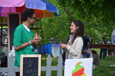 Plenty of laughs to go around at the Big Gay Ice Cream Truck. Photo by Mary Dorn