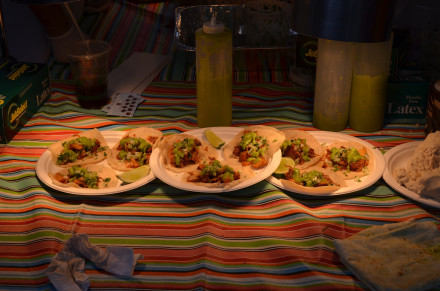 There's always room for tacos. Photo by Mary Dorn