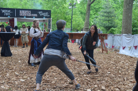 The Roberta's Ren Faire let's you live out your Game of Thrones fantasies. Photo by Mary Dorn