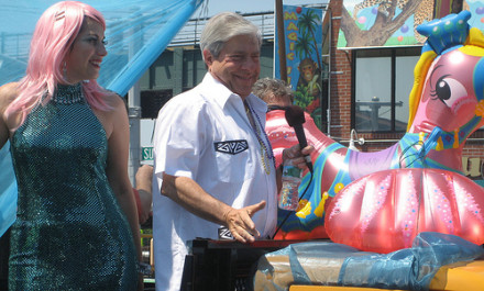 Take free fitness classes and party with Marty Markowitz