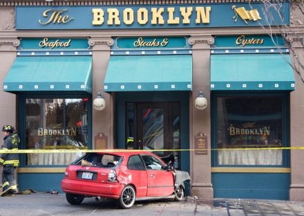 Woo! Brooklyn's number one…at death by automobile