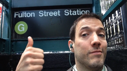 Finally, a goofy, funny tribute to the G train, in song