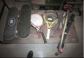 Oooh, a tennis racket!