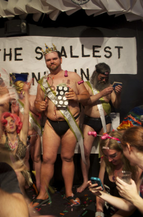 Dickin' around at the Smallest Penis in Brooklyn Pageant