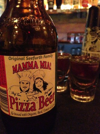 Pizza beer: it exists in Brooklyn. But is it any good?