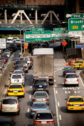 """I'll just take the BQE, no one's thought of that,"" said everyone on the road. via Flickr user photoAtlas"