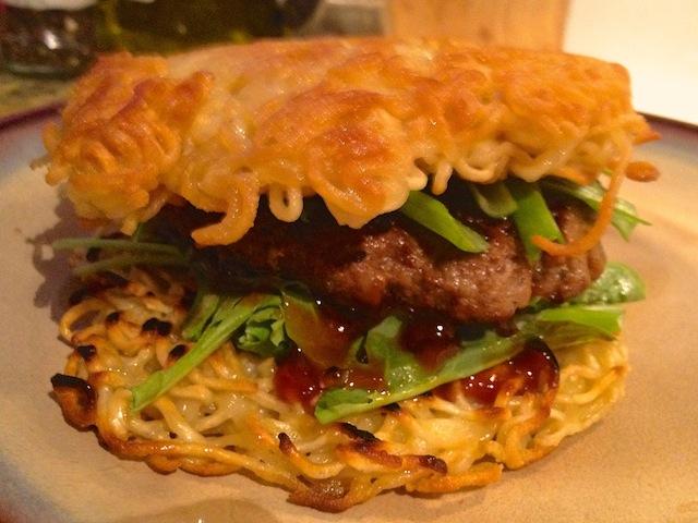 Skip the line: make your own damn ramen burger