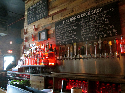 Bars We Love: Get buried in a buzz at the Pine Box Rock Shop