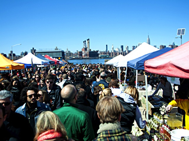 Smorgasburg is fun, but get there early. Photo by Joe Delaney