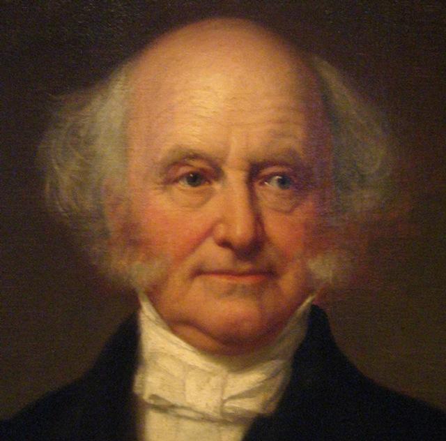 Martin van Buren would be at home in 1836 or 2013 Brooklyn
