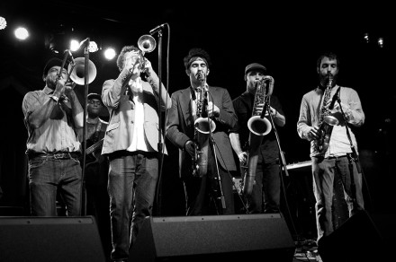Zongo Junction (above in 2012 at Brooklyn Bowl). Photo by Sarah Gainer.