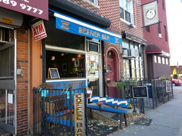 Beaner Bar, Brooklyn's only Mexipean cafe.