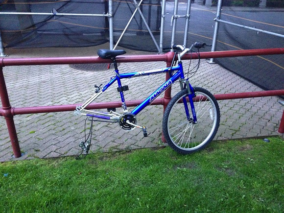People steal bikes because there's almost no risk