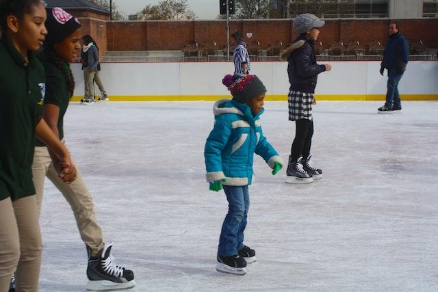 mccarren ice rink child skating