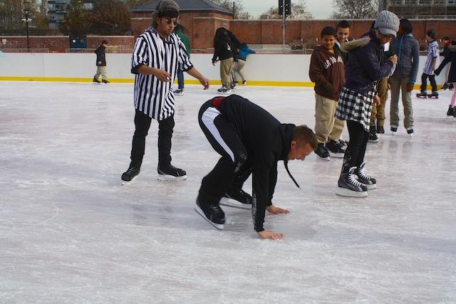 mccarren park ice rink adult falls